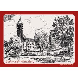 Kühlschrankmagnet Schlosskirche Lutherstadt Wittenberg